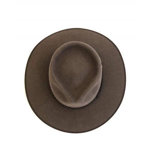 immagine che rappresenta il cappello akubra cattleman marrone chiaro