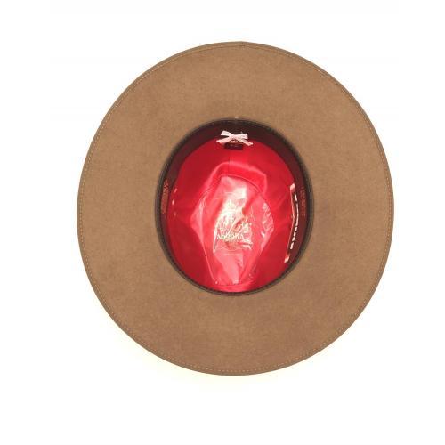 immagine che rappresenta il cappello akubra Coober Pedy marrone chiaro