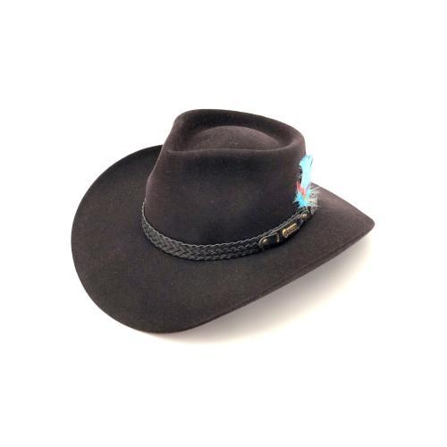 immagine che rappresenta il cappello akubra sowy river nero