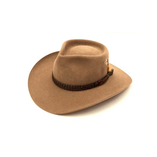 immagine che rappresenta il cappello akubra sowy river nocciola