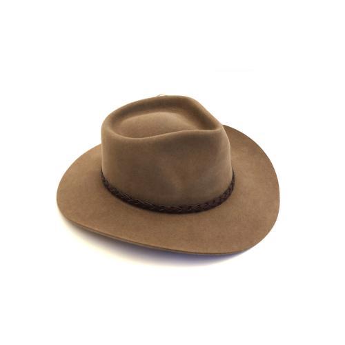immagine che rappresenta il cappello akubra stockman nocciola