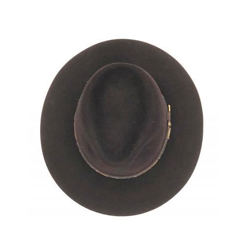 immagine che rappresenta il cappello akubra leisure time nero