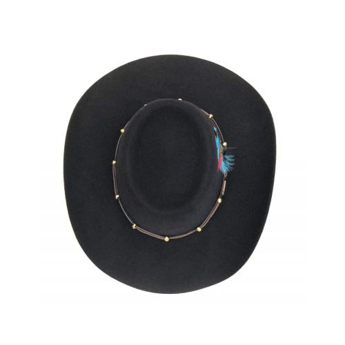 immagine che rappresenta il cappello akubra the boss nero
